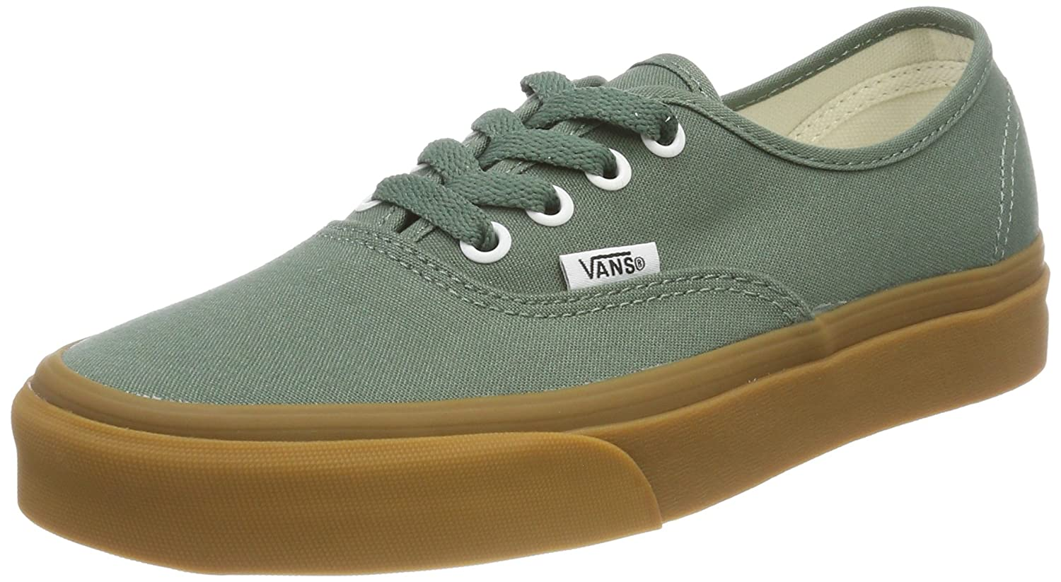 [バンズ] スニーカー Women's AUTHENTIC (Pig Suede) VN0A38EMU5O レディース B074HDTF46 Duck Green/Gum 5.5 M US Women / 4 M US Men 5.5 M US Women / 4 M US Men|Duck Green/Gum