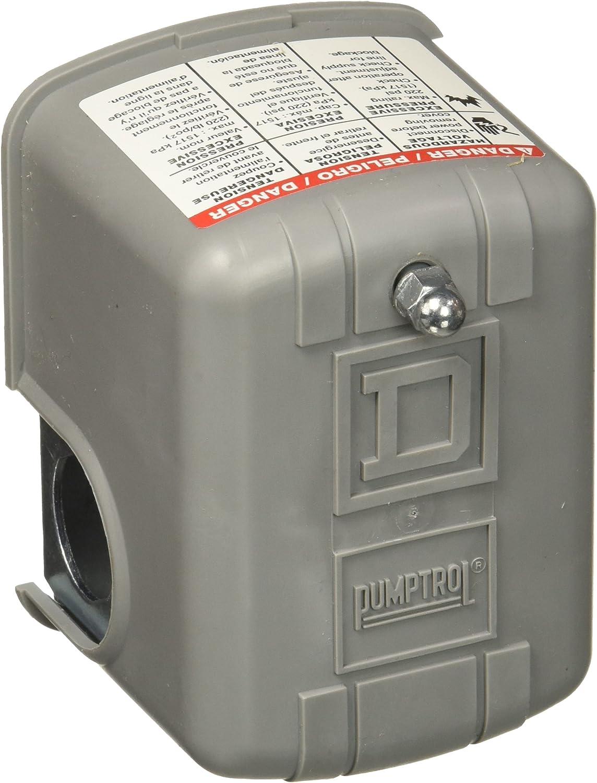 Square D 9013 FSG2 30/50 Schneider Electric FSG2J21CP 30-50 PSI Pumptrol Water Pressure Switch
