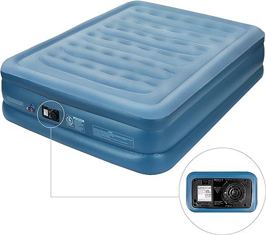 Amazon.com: MARNUR Colchón de aire tamaño Queen cama de aire ...
