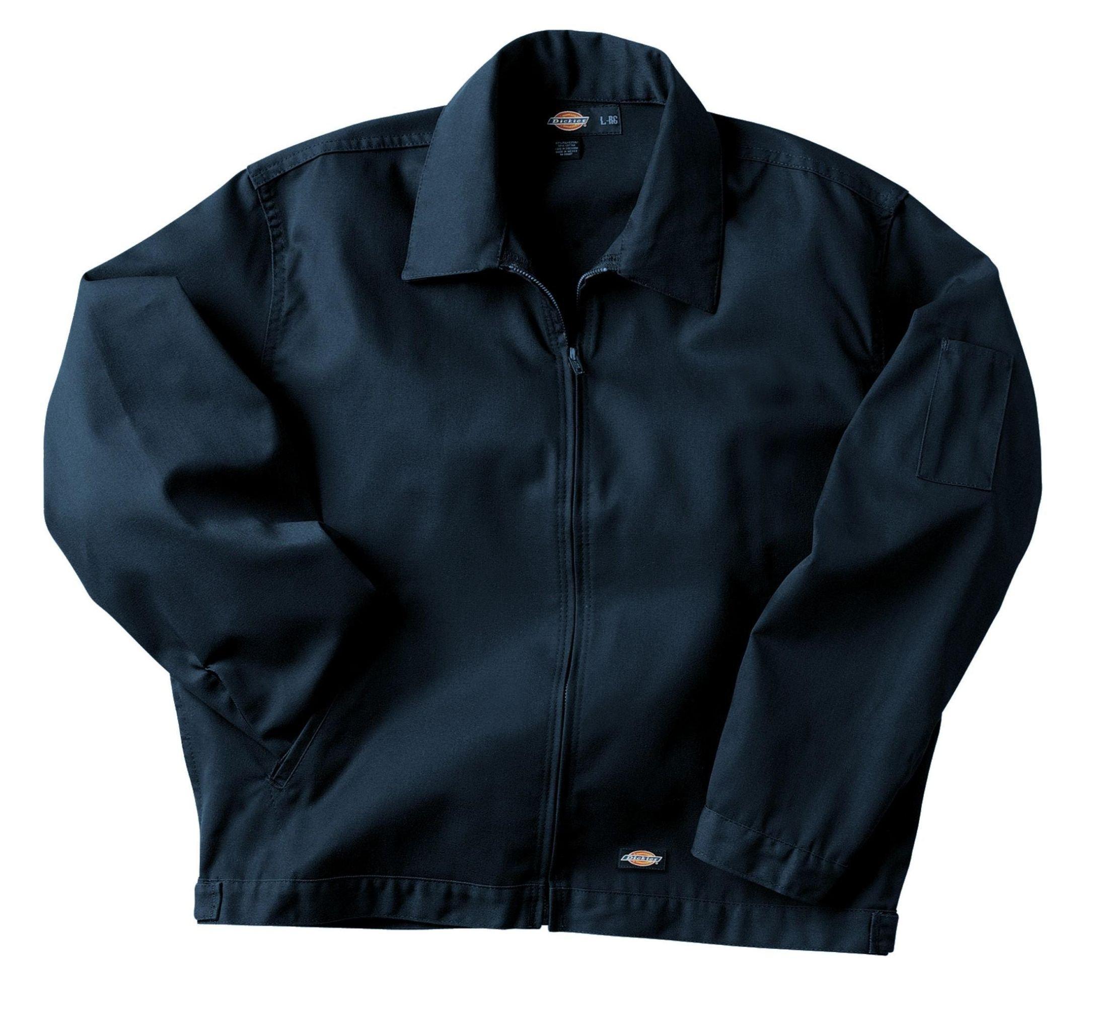 Dickies Men's Unlined Eisenhower Jacket, Dark Navy, Large/Regular by Dickies