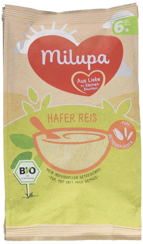 Milupa Hafer Reis Getreidebrei 6. Monat, 1er Pack (1 x 180 g) Milupa Nutricia GmbH 131326