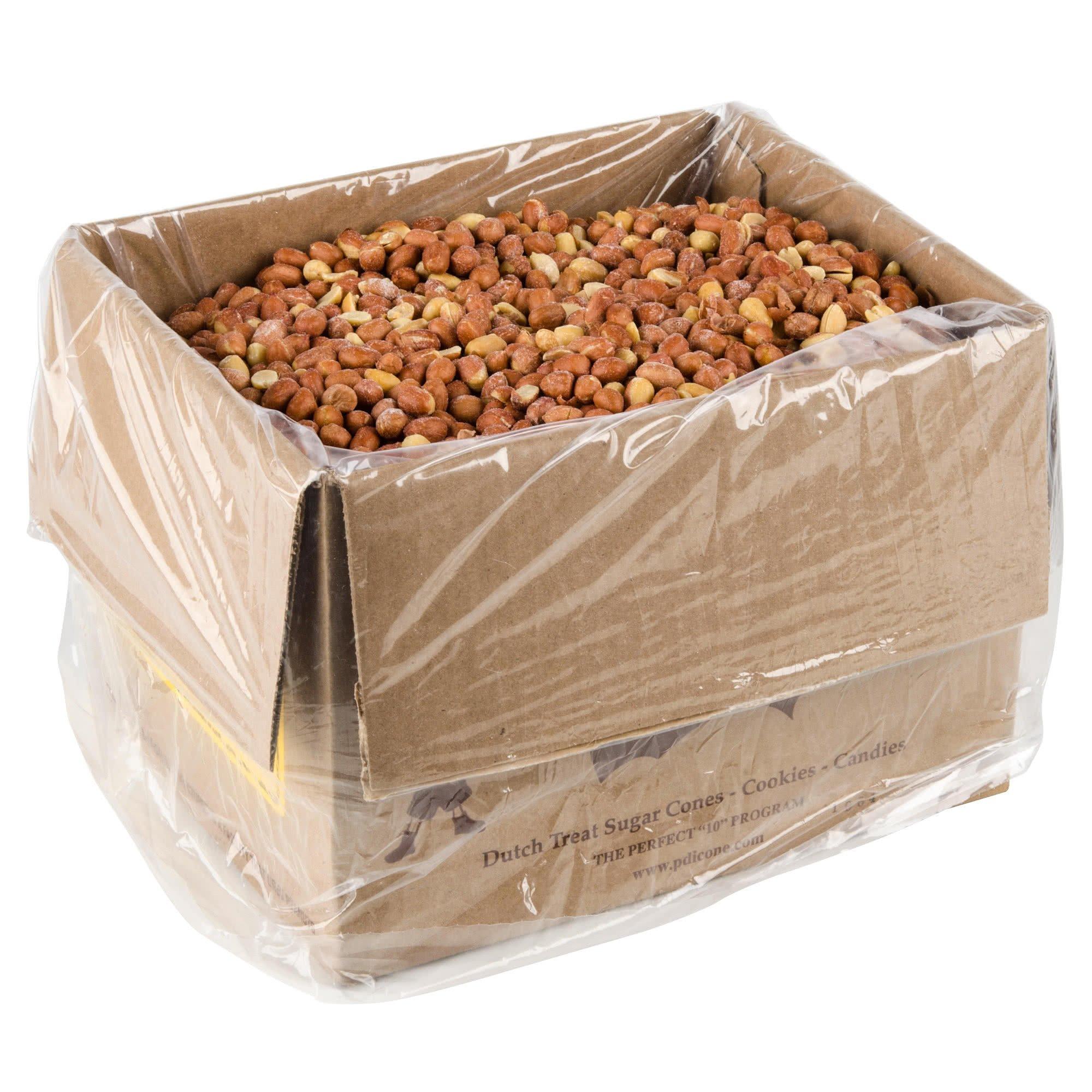 Dutch Treat Spanish Peanuts - 10 lb. By TableTop King