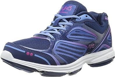 Ryka Women/'s Dominion Walking//Running Shoe Blue//Blue//Rose Select Size