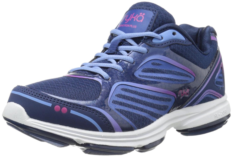 Ryka Women's Devotion Plus Walking Shoe B00MF08Z2S 5 B(M) US|Navy/Blue