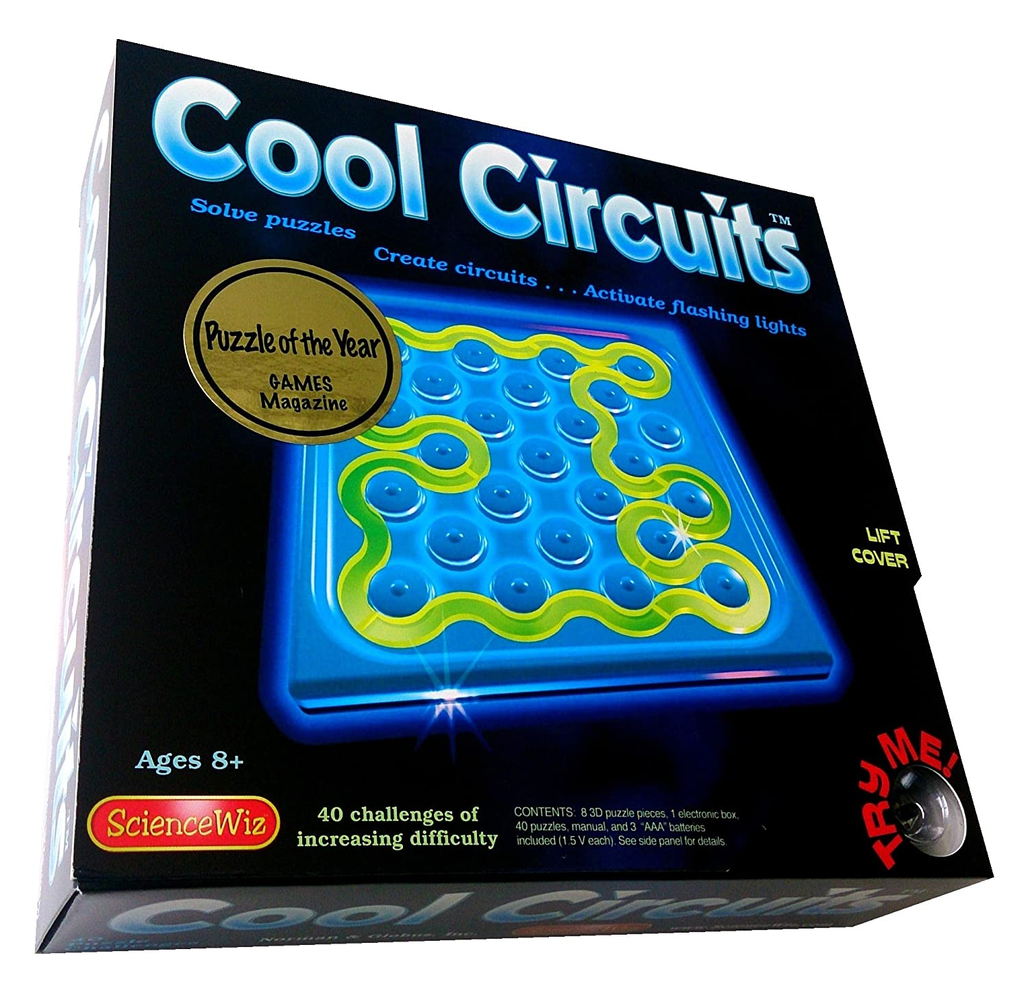 Science Wiz Cool Circuits Kits Maze Sequential Puzzles Circuit Solving Tutorial 5 Amazon Canada