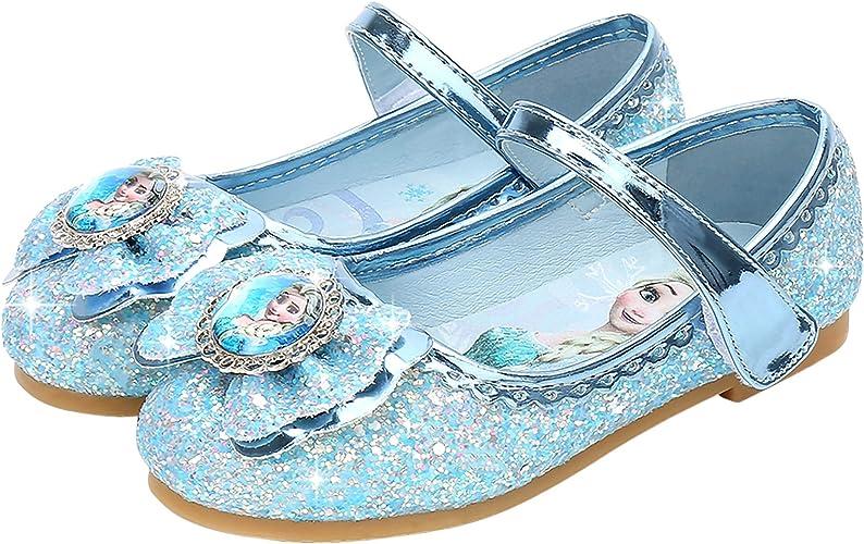 FStory&Winyee Mädchen Prinzessin Schuhe Kinder ELSA Sandalen y3bab