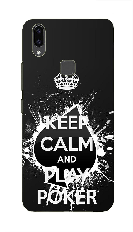 Cvanzi Poker Design Back Hard Printed Mobile Cover For Vivo V9 Amazon In Electronics