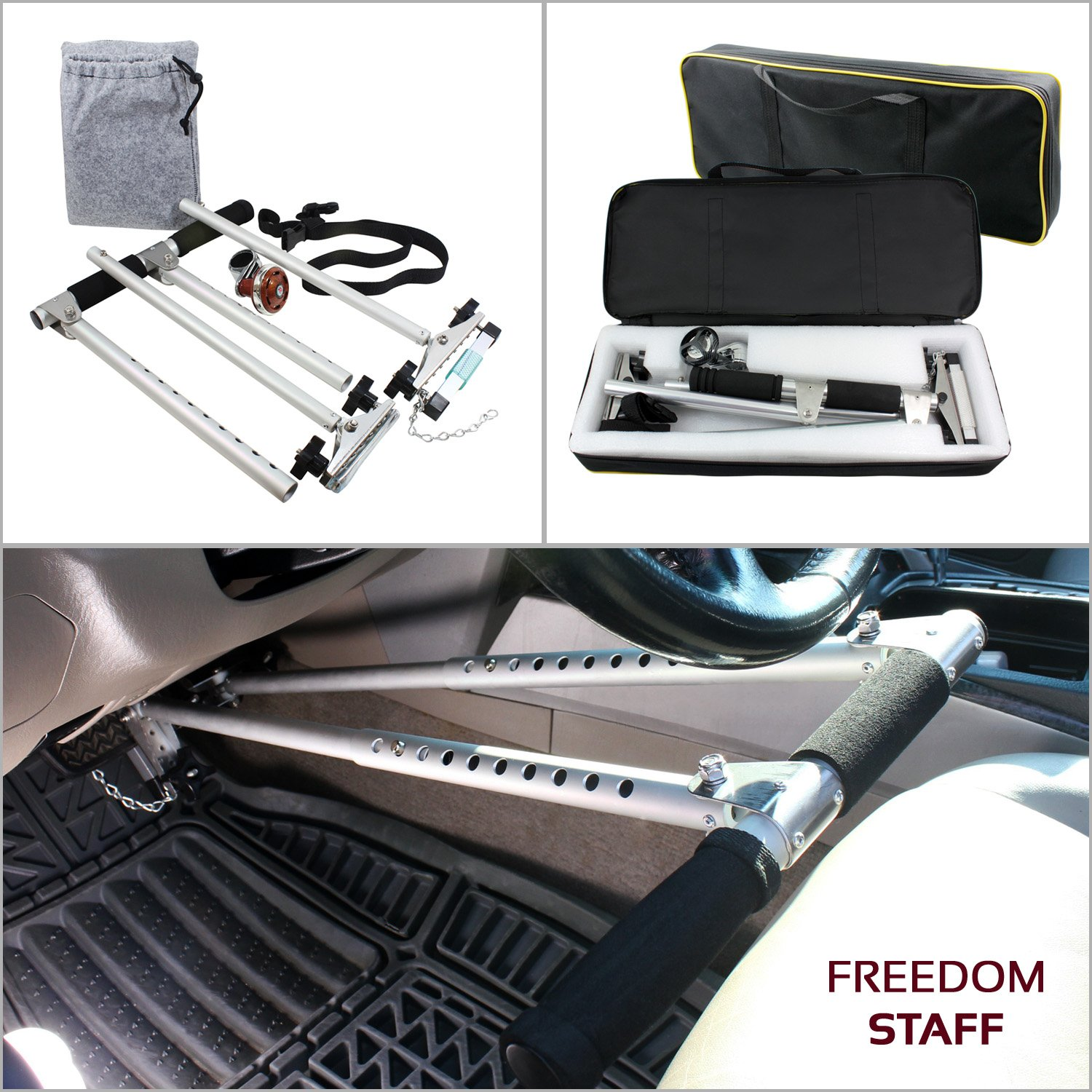 Amazon.com: Freedom Staff 2.0 Handicap Driving Hand Controls ...