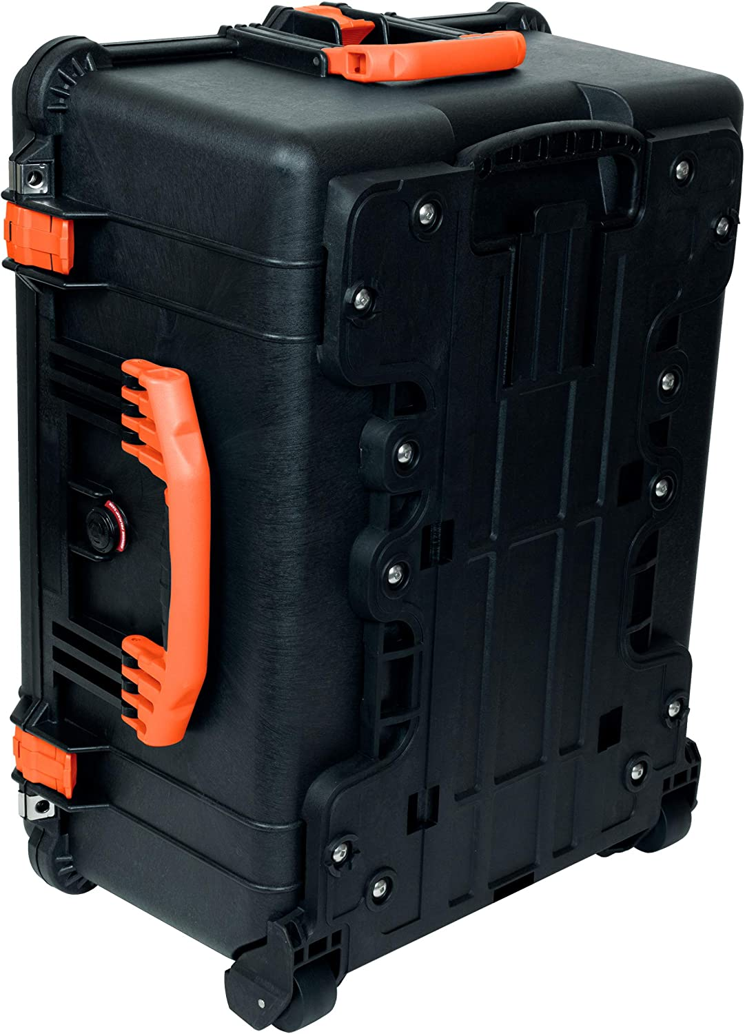 Comes with Foam /& with Wheels. Pelican 1610 Black /& Orange Case