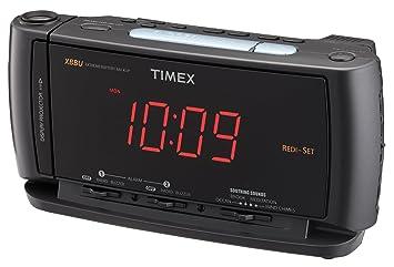 Amazon.com: Timex T740 redi-set Dual Tiempo de radio reloj ...