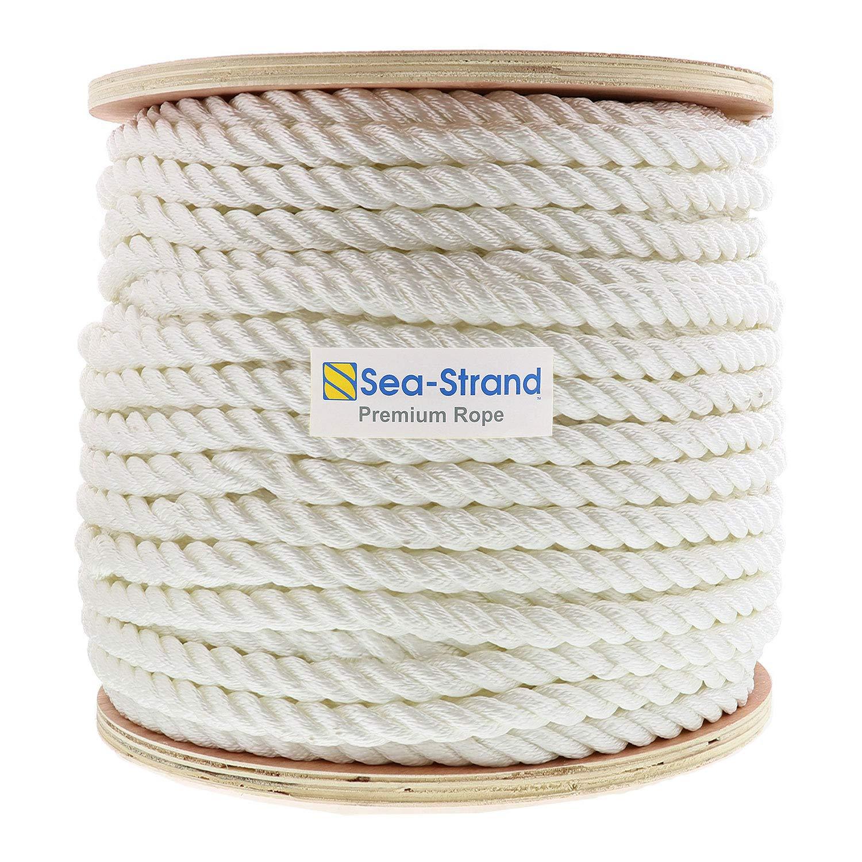 Sea-Strand 5/8'' x 600' Reel, 3-Strand Nylon Rope