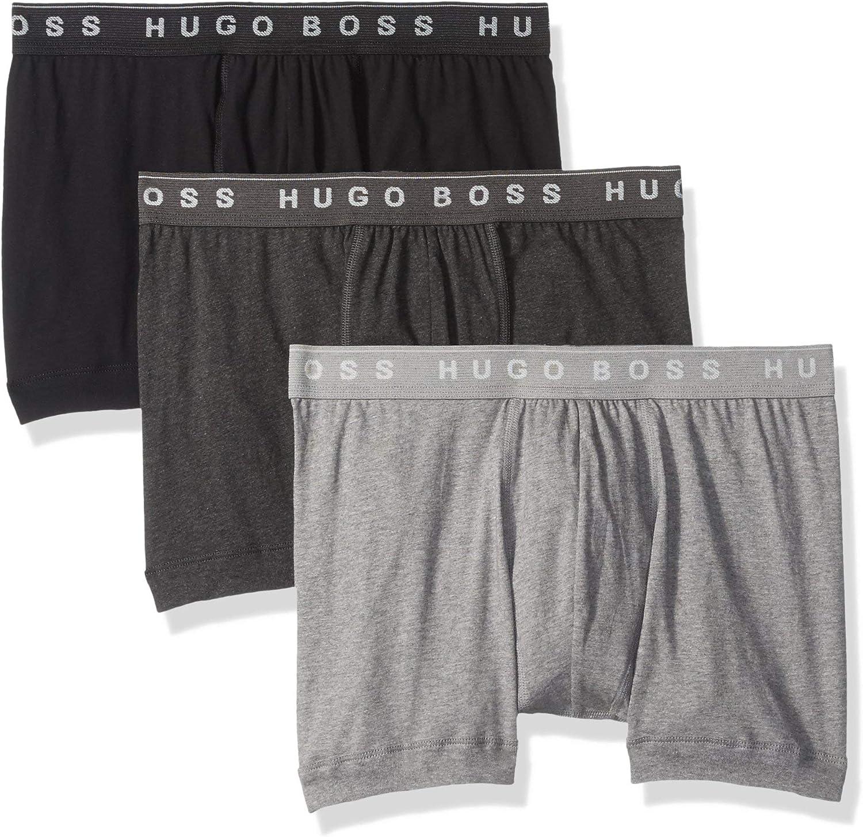Hugo Boss Mens 3-Pack Cotton Boxer Brief