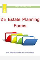 25 Estate Planning Forms: Legal Self-Help Guide Kindle Edition
