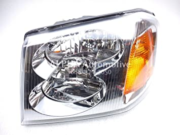 81WlJyrStPL._SX355_ amazon com gmc envoy replacement headlight assembly 1 pair
