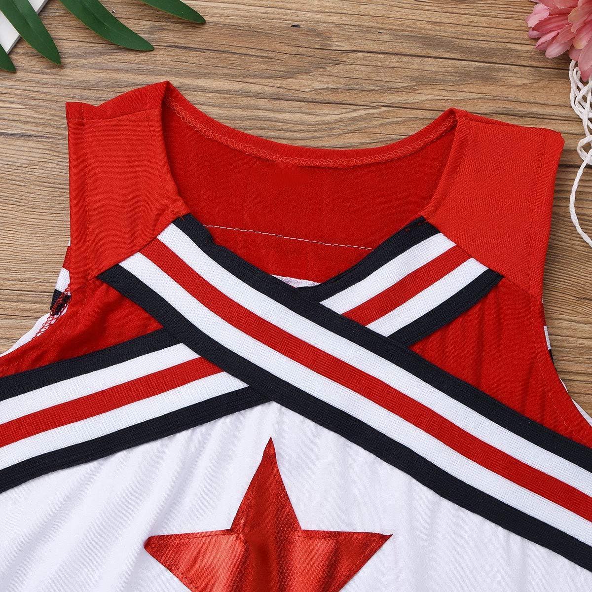 dPois Disfraces de Animadora Fútbol Tenis Baloncesto Niñas Chicas ...