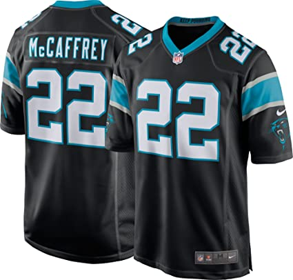 3e4db43b Amazon.com : Nike Men's Carolina Panthers Christian McCaffrey Jersey ...