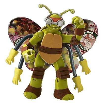 Teenage Mutant Ninja Turtles Mike Turflytle Figure: Amazon ...