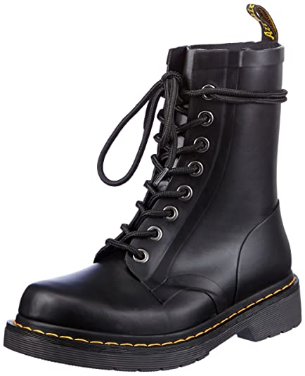 Dr  Martens Drench Rubber Black  Unisex Adults  Boots   JJ1W0V3CT