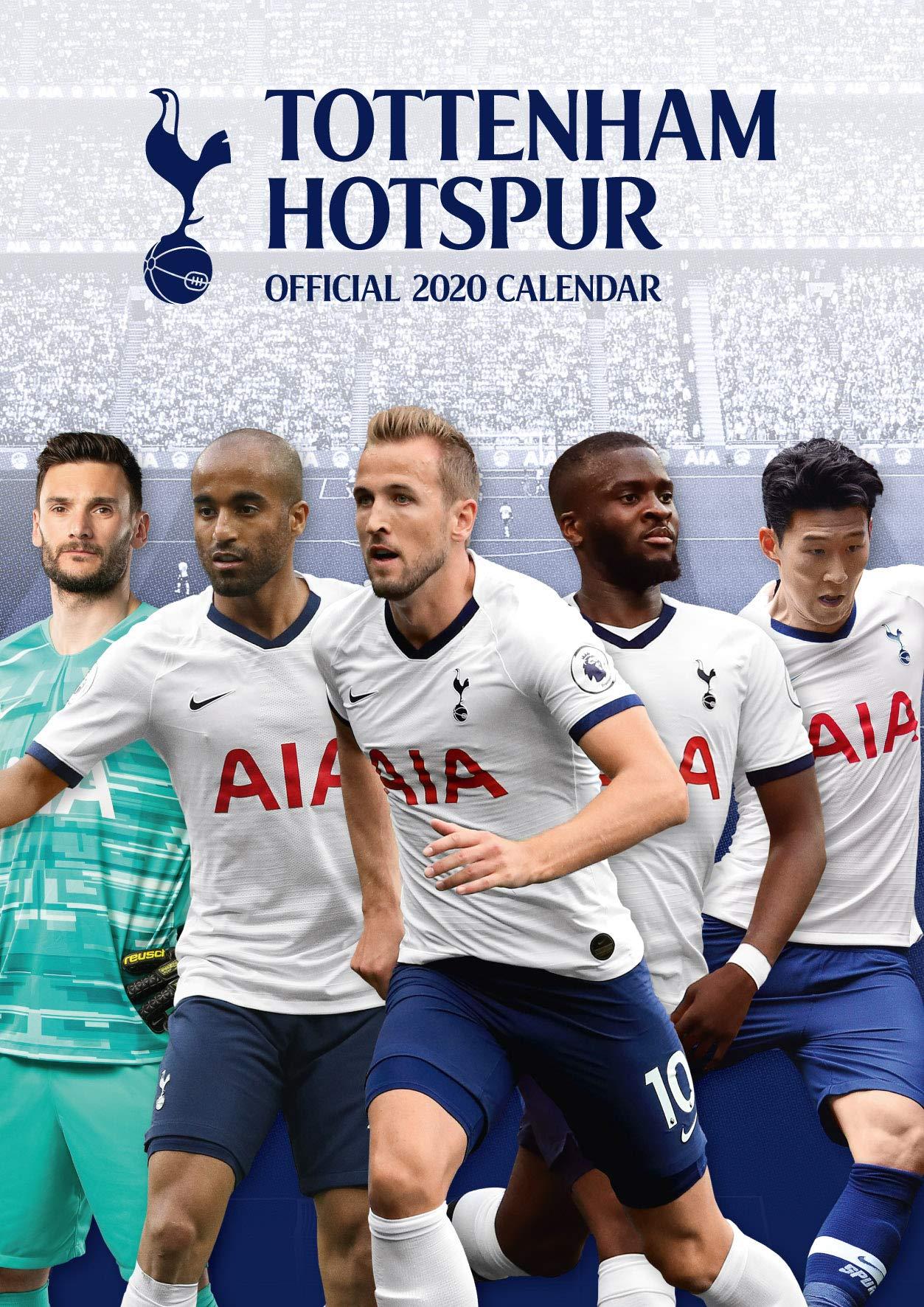 The Official Tottenham Hotspur F C Calendar 2020 Hotspur Tottenham 9781838541866 Amazon Com Books