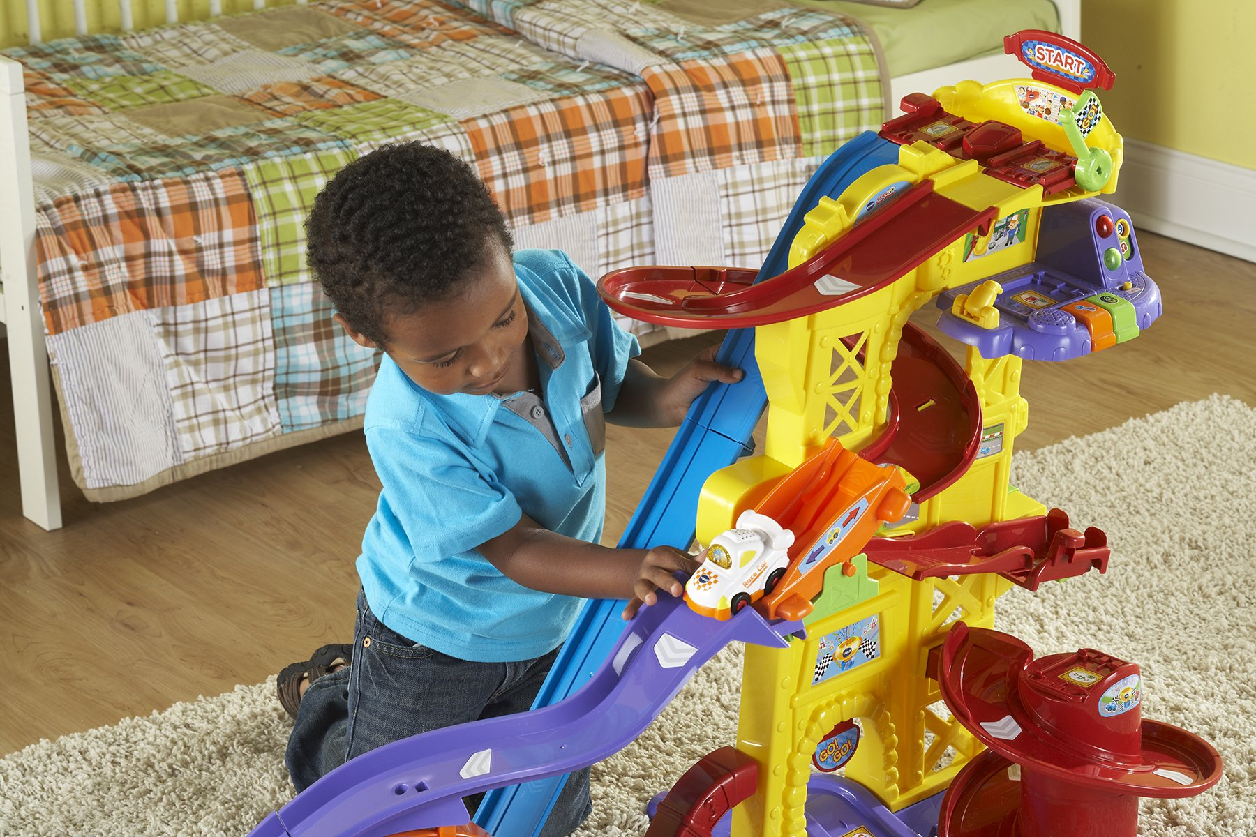 VTech Go! Go! Smart Wheels Ultimate Amazement Park Playset (Frustration Free Packaging) by VTech (Image #5)
