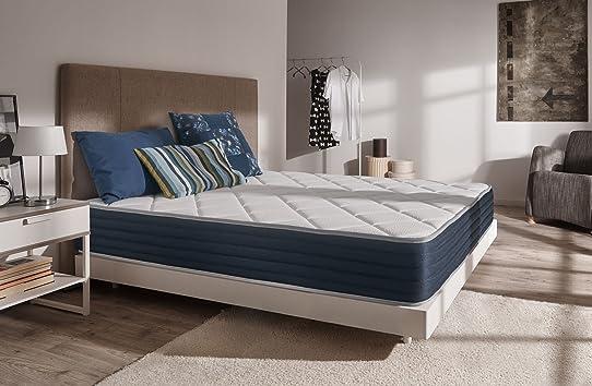 Exceptionnel Naturalex - Matelas Royalvisco 140x190 cm Blue Latex® + mousse à  OP75