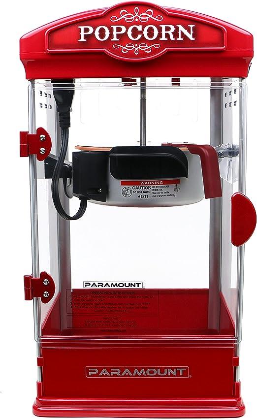 Amazon.com: Palomitero Paramount eléctrico para hacer ...