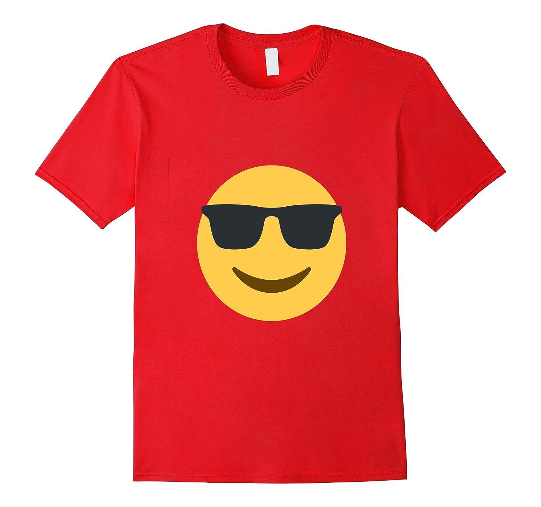 sunglasses cool emoji t shirt smiley face laugh emoticon brvttee com