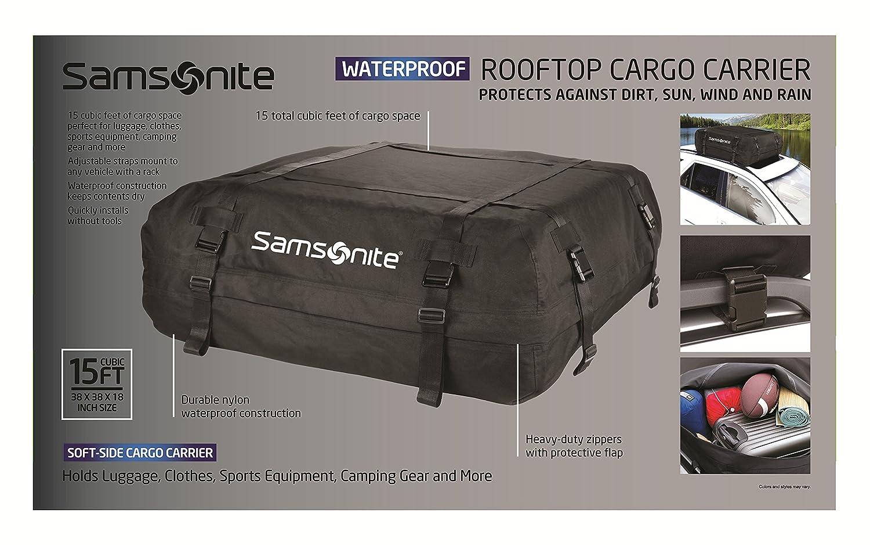 Amazon.com: Samsonite Rooftop Cargo Carrier 100% Waterproof: Automotive
