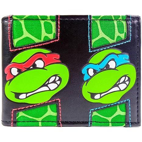 Cartera de Mirage Teenage Mutant Ninja Turtles múltiples caras Multicolor