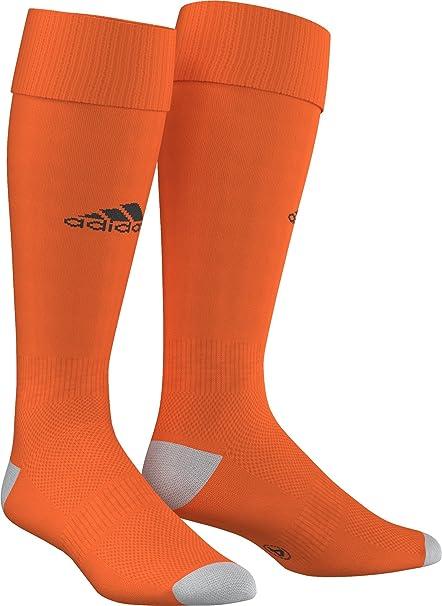 0478f0b939a5e0 Adidas Milano Calzettoni da Uomo, Arancione/Nero (Orange/Black (AJ5910)