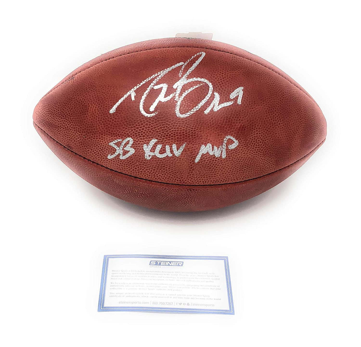 Drew Brees New Orleans Saints Signed Autograph Authentic NFL Duke Football SB XLIV MVP Inscribed Steiner Sports Certified