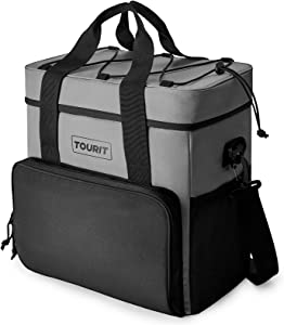 TOURIT Cooler Bag 35-Can Insulated Soft Cooler Portable Cooler Bag 24L Lunch Coolers for Picnic, Beach, Work, Trip