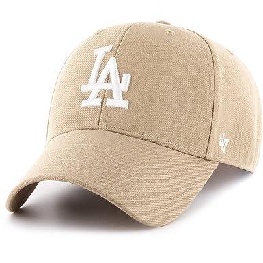 02113742 Amazon.com: '47 Brand Los Angeles Dodgers MVP Snapback Cap - Khaki ...