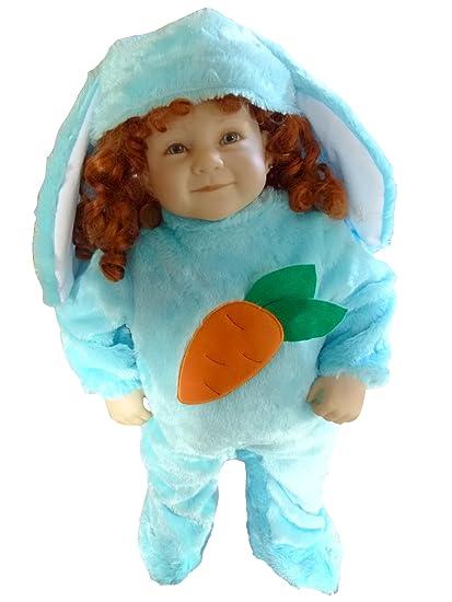 F78 tamaño de 6-9 meses traje de conejo de conejo trajes de ...