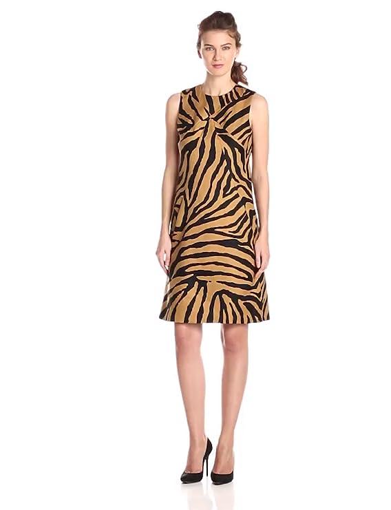 Anne Klein Mujer Animal Impreso Yute vaina vestido: Amazon.es: Ropa y accesorios