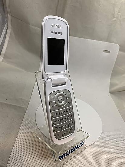 Samsung E1270 Telefono Cellulare, Colore: Bianco: Amazon.it