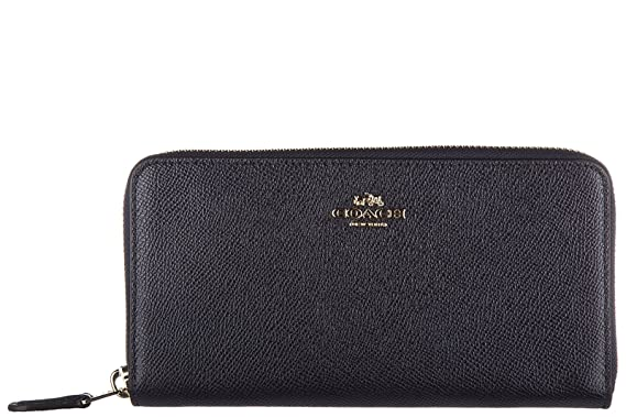 Coach portefeuille porte-monnaie femme en cuir deux plis blu  Amazon ... fc7536248ef