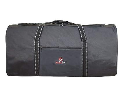 XL Bolsa de Viaje Muy Grande en Tamaño de Equipaje de Viaje, Equipaje Negro de 110 Litros 2XL Bolsa de Iona - 1 Bolsa Enorme - Plana Pegable para ...