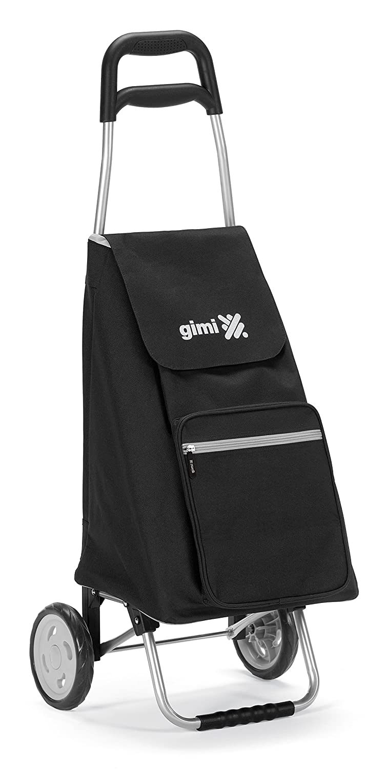 Gimi Italian Design Lightweight Foldable Wheeled Shopping Trolley, Black by Red Co. B013HBP4UY