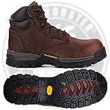 ROCKROOSTER Men's Work Boots, 6'' Composite