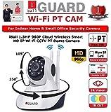 iBall iB-HDP1331AF 1.3MP 960P Wireless Smart HD IP Wifi CCTV Dome Camera (White)