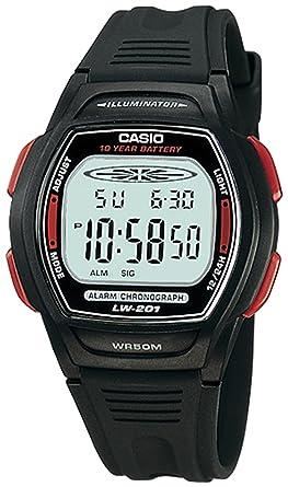 CASIO 19327 LW-201-4AV - Reloj Infantil Unisex caucho: Casio: Amazon.es: Relojes
