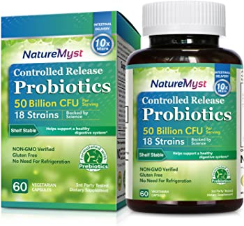 NatureMyst Probiotics Veggie Capsules