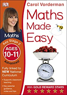 Help Your Kids with English  Amazon co uk  Carol Vorderman     Maths Made Easy Ages       Key Stage   Advanced  Carol Vorderman     s Maths Made