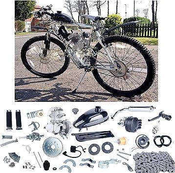YaeCCC Kit de Motor de Bicicleta 80 CC 2 Tiempos Motor de ...