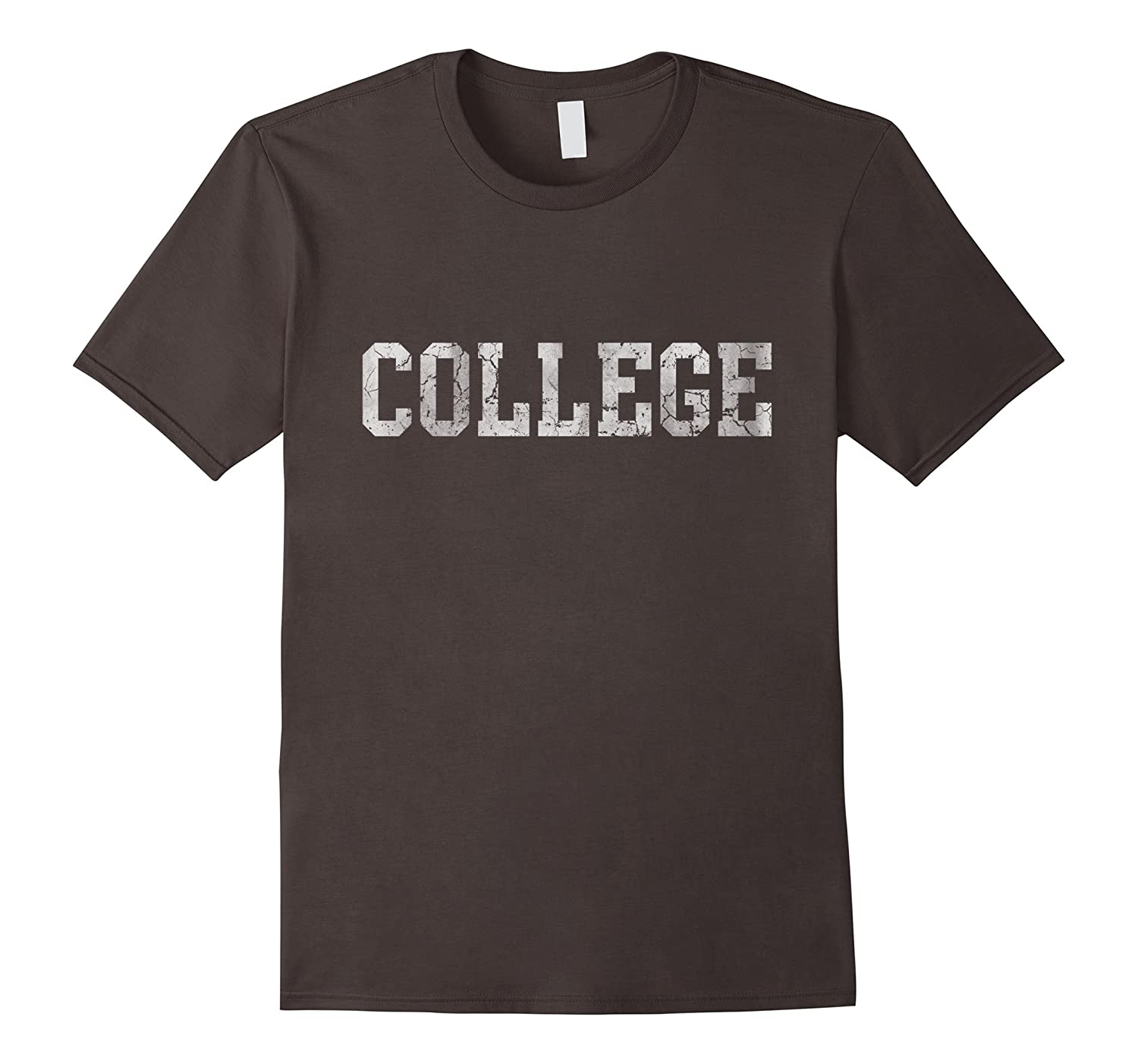 Retro College Funny T Shirt-CD