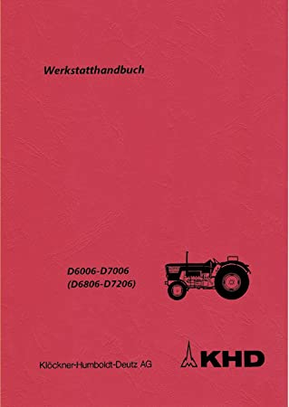 Deutz Werkstatthandbuch Getriebe für Traktor der 06 Baureihe .