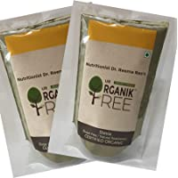 Our Organik Tree Stevia Leaves Natural Sweetener & Sugar-free Substitute - Pack of 2