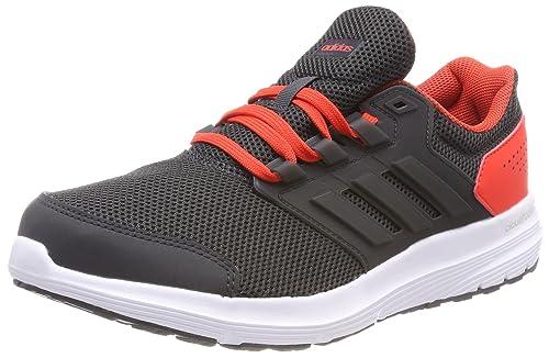 Adidas Galaxy 4 m, Zapatillas de Trail Running para Hombre, Gris (Carbon/Carbon/Roalre 000), 40 EU