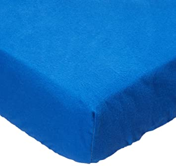 2e5d29d2a88 Amazon.com   SheetWorld Fitted Playard Sheet Fits BabyBjorn Travel Crib  Light 24 x 42 - Flannel - Royal Blue - Made in USA   Baby